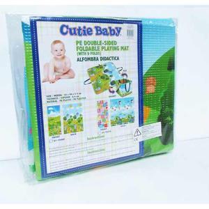 Alfombra De Juego Para Bebes Niños Organizador Cutie Baby