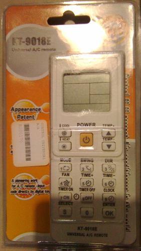 Control Remoto Universal Aire Acondicionado Modelo Kt