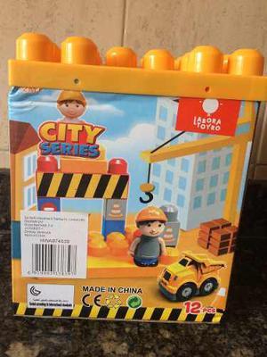 Juguete Juego Lego Construcción Piezas Armables 12 Piezas