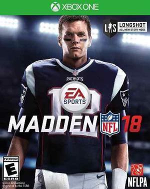 Madden Nfl 18 Xbox One Codigo Digital Nuevo