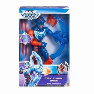 Muñeco Max Steel Turbo Arco Original Mattel