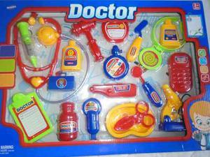 Set De Doctor Medico Para Niños Juguete Accesorios
