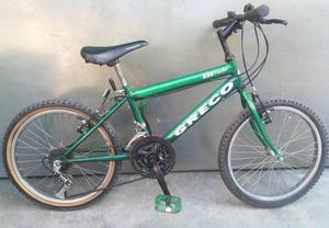 Bicicleta Montañera Greco, Rin 20