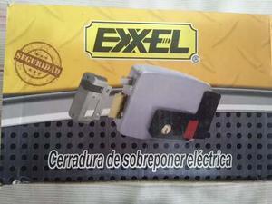 Cerradura De Sobreponer Eléctrica Exxel