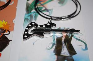 Collar Anime De Guitarra Electrica Con Guaya De Acero