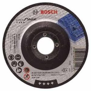 Disco Desbaste Metal Esmerilar Bosch L4 1/2 X 1/4