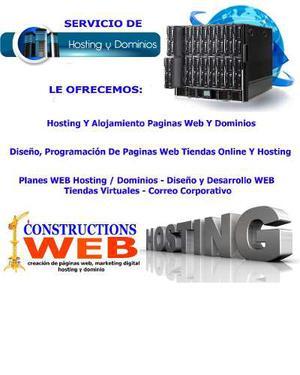 Hosting Y Dominio, Diseño Web