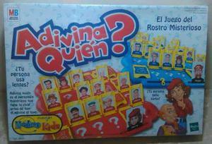 Juego De Mesa Adivina Quién. Original De Hasbro.