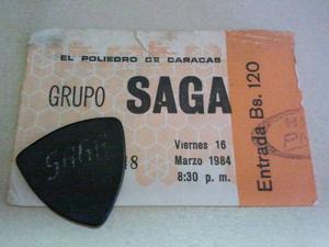 Pajuela De La Banda * Saga * + Entrada Del Concierto ()