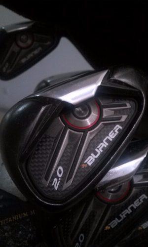 Palos De Golf Taylor Made Burner 2.0 Poco Uso