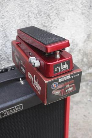 Pedal De Efectos Wah + Distorcion Slash Dunlop Fender Gibson