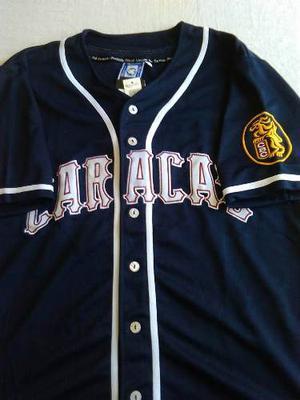 Camisa Leones Del Caracas Azul Marino
