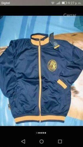 Chaqueta Original Souvenir Leones Del Caracas Lbvp Talla Xs