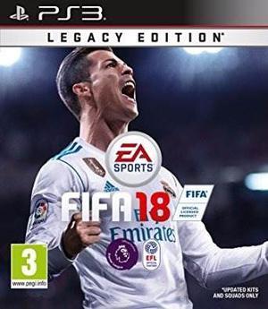 Fifa 18 Ps3 Formato Digital Original (valera)