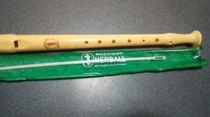 Flauta Dulce Marca Herbal