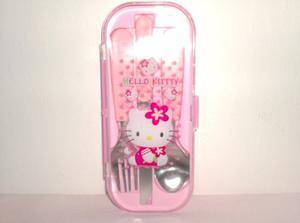 Juego De Cubiertos De Hello Kitty