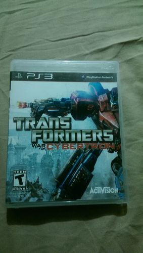 Juego De Ps3 Transformers War For Cybertron