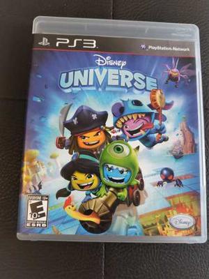 Juego Fisico Disney Universe Para Ps3. Garantia