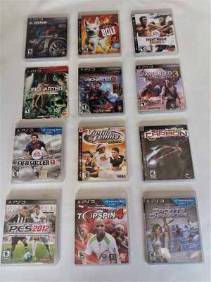 Juegos Para Playstation 3 (fisicos) Venta Original Garantia