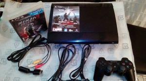 Play 3 Super Slim + 1 Juego Original + Control Sony