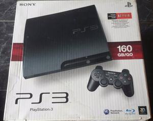 Playstation 3 Slim De 160 Gb Como Nuevo Somos Tienda