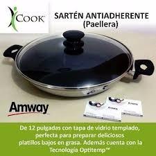 Sarten Antiadherente Icook 12 Con Tapa (paellera)