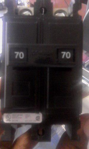 Breaker 3x70 Amp Superficial Culter Hamer