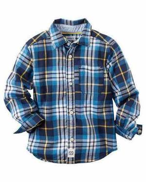 Camisas Para Niños Carters Y Oshkosh Importadas