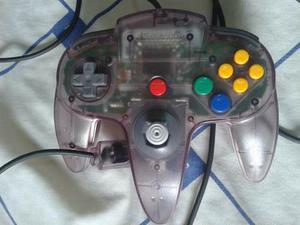 Control De Nintendo 64 Como Nuevo, Original, Poco Uso
