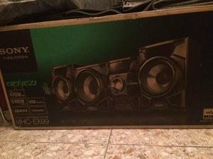 Equipo De Sonido Sony Mhc-ex99 Equipo De Sonido