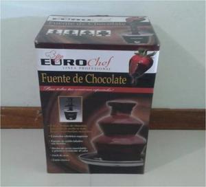Fuente Chocolate Eurochef 3 Niveles