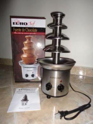 Fuente Chocolatera Eurochef 4 Niveles Totalmente Nueva!!!