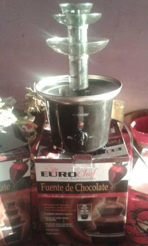 Fuente De Chocolate - 3 Niveles - Eurochef - Nueva