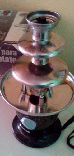Fuente De Chocolate Polar 3 Niveles De Acero Inox
