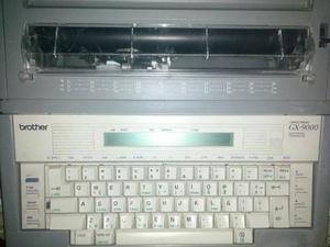 Maquina De Escribir Electronica Marca Brother Modelo Gx-