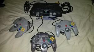 Nintendo 64 + 2 Controles + 2 Juegos