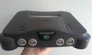 Nintendo 64 Con 2 Controles Y 2 Juegos Funciona Sin Problema