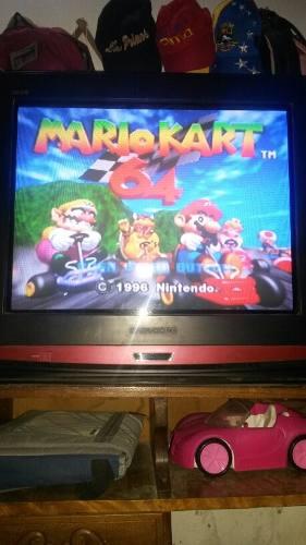 Nintendo 64 Con 2 Controles Y 8 Juegos Solo Por Hoy