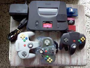 Nintendo 64 N64 Full Equipo En Perfecto Estado