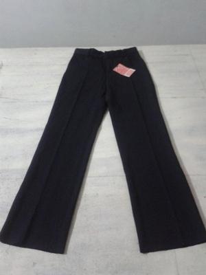 Pantalones Escolares Niñas Gabardina Strech Solo Talla 6