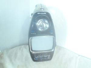Televisor Portatil Con Linterna Y Alarma