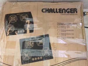 Tope De Cocina Challenger Cuatro Hornillas