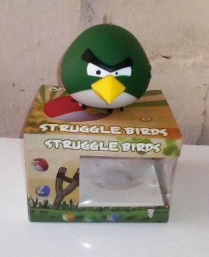 Corneta MP3 Angry Birds Color Verde NUEVA