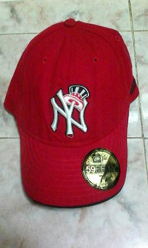 Gorra Original Yankees New York Roja 7 1/4inch 57.7cm Cambio