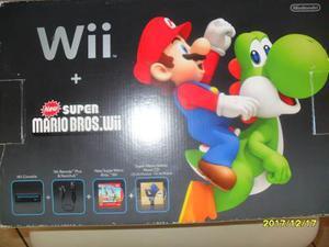 Nintendo Wii Edición Especial Super Mario