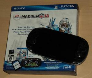 Playstation Vita + Madden13