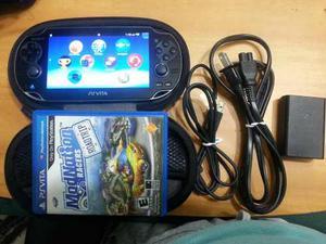 Ps Vita Sony Original Con Estuche + Juego + Memoria 4gb Sony