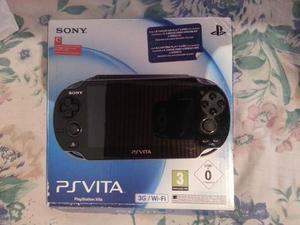Ps Vita Sony Original Wi-fi +3 Juego Originales+ Memoria 4gb