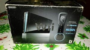 Wii Black Usada En Perfecto Estado + 15 Juegos Y Cargador