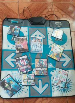 Wii Manta De Baile, Con Juego Original Màs 9 Juegos De
